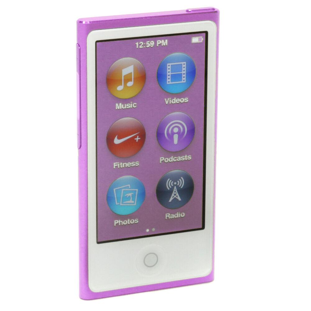 apple ipod nano 7th generation purple 16 gb latest model