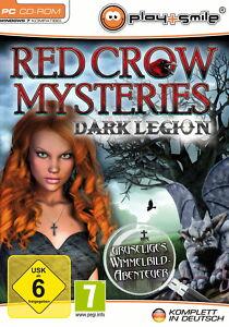 Red Crow Mysterys: Dark Legion (PC, 2012, DVD-Box) - <span itemprop=availableAtOrFrom>Leibnitz, Österreich</span> - Red Crow Mysterys: Dark Legion (PC, 2012, DVD-Box) - Leibnitz, Österreich