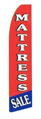 Cheap Outdoor Message Flags For Sale- Mattress Sale (red & Blue)