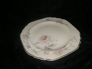 Limoges-Silver-Moon-China-4M133-Square-Salad-Plate-New
