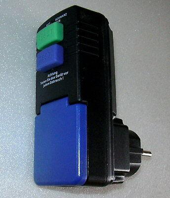PRCD Schutzschalter,Fehlerstrom, Steckdosen FI-Schalter, 30 mA
