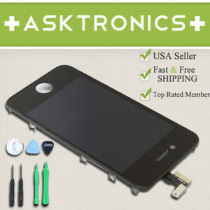 Touch Screen Glass Digitizer LCD Replacement Assembly for iPhone 4 4G AT&T GSM