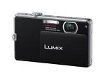 Panasonic LUMIX DMC-FP3 14.1 MP Digital Camera - Black