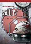 Saw IV (DVD, 2008, Canadian; Pan and Scan)