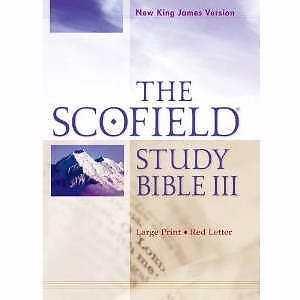 nkjv scofield study bible iii large print hardcover red With nkjv study bible large print red letter