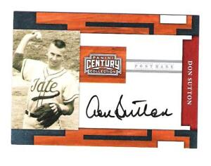 2010 CENTURY COLLECTION DON SUTTON AUTO # /149 HOF SP