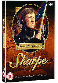 Sharpes-Regiment-DVD-New-And-Sealed-Sean-Bean