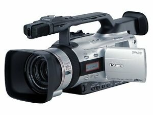 Canon-XM2-Camcorder-3CCD-with-Image-Stabilizer-Lens-and-with-wide-lens-converter