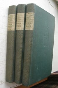The-Works-Of-William-Makepeace-Thackeray-3-Vol-1937
