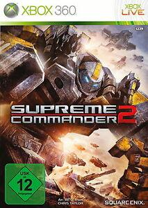 XBOX-360-SUPREME-COMMANDER-2-VON-SQUARE-ENIX-ECHTZEIT-STARTEGIE-ERSTAUSGABE