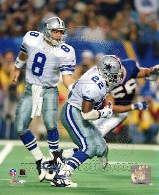 Troy Aikman Emmitt Smith Dallas Cowboys 8x10 Photo