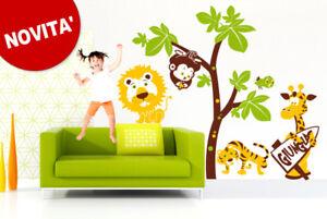 00200 wall stickers adesivi cameretta bimbo giungla 160x150 cm ebay - Adesivi cameretta bimbo ...