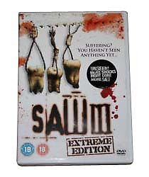 Saw 3 DVD 2007 - Brackley, Northamptonshire, United Kingdom - Saw 3 DVD 2007 - Brackley, Northamptonshire, United Kingdom