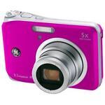 GE A950 9.1 MP Digital Camera - Pink