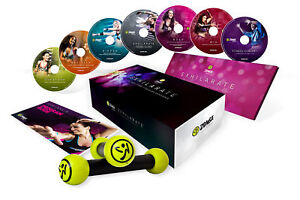 OFFICIAL-Zumba-Fitness-EXHILARATE-7-DVD-SET-Toning-Sticks-Join-the-party