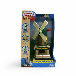 NEW-IN-BOX-Thomas-Tank-Engine-Wooden-TOBYS-WINDMILL-Railway