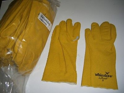 12 Pairs Whizzbee Actifresh Safety Work Vinyl Dip Pvc Gloves Size Small