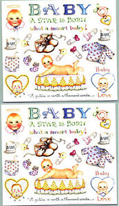 Susan-Branch-BABY-Scrapbook-Stickers-2-Sheets