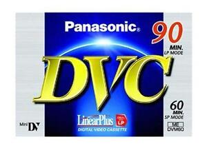 Panasonic-Mini-DV-Digital-Video-Camera-Camcorder-Tape-Cassette-60min-x-1-pc
