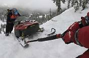 Snobunje Rattler Snowmobile Puller Gets Your Sled Or Atv Unstuck Easy Use