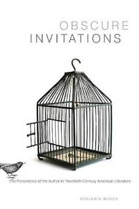 Obscure Invitations  BOOK NEW