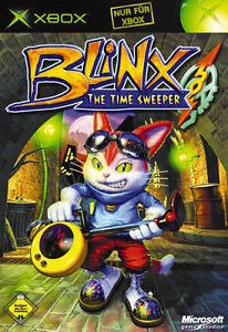 XBOX Spiel Blinx - The Time Sweeper ohne  Anleitung guter Zustand + OVP