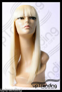 LADY-GAGA-STYLE-WIG-HIGH-HEAT-RESISTANT-FIBRE-PALE-BLONDE-613-T-041