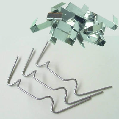 Greenhouse Glass Glazing Fixing Clips 50 W & 50 Z Clips Free Delivery