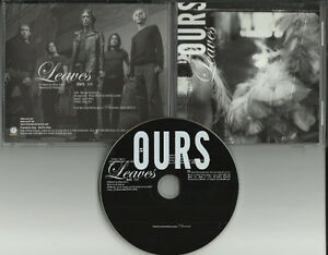 OURS-Leaves-RARE-EDIT-PROMO-DJ-CD-Single-JIMMY-GNECCO
