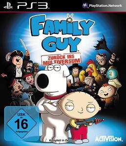 SONY PS3 Family Guy: Zurück ins Multiversum PlayStation 3 deutsch OVP gebraucht