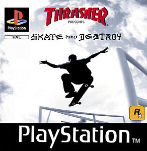 PS1 - Playstation Thrasher - Skate And Destroy TOP - Karlsruhe, Deutschland - PS1 - Playstation Thrasher - Skate And Destroy TOP - Karlsruhe, Deutschland