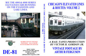 DVD-Chicagos-Elevated-Lines-Volume-2-CTA-Rapid-Transit-Subway-L-Spam-Cans