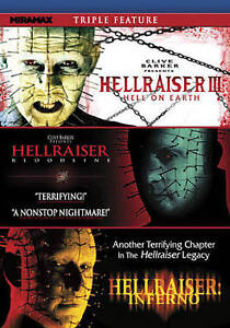 Hellraiser Triple Feature DVD 2011 Hell On Earth Bloodline Inferno NEW - Jacksonville, Florida, United States - Hellraiser Triple Feature DVD 2011 Hell On Earth Bloodline Inferno NEW - Jacksonville, Florida, United States