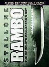 Rambo: The Complete Collector's Set (DVD, 2008, 6-Disc Set, Canadian)