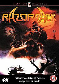 Razorback DVD Gregory Harrison Australian 1980s Ozploitation Horror Anchor Bay - Guestling, East Sussex, United Kingdom - Razorback DVD Gregory Harrison Australian 1980s Ozploitation Horror Anchor Bay - Guestling, East Sussex, United Kingdom
