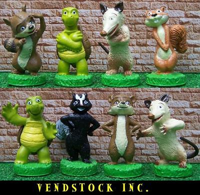 8 Dreamworks Over The Hedge Figure Cake Toppers