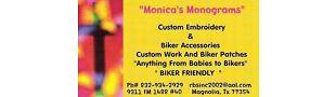 Monica's Monograms