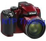COOLPIX P510 Red Digital Camera