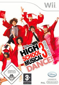 High School Musical 3: Senior Year DANCE (Nintendo Wii, 2009, DVD-Box)