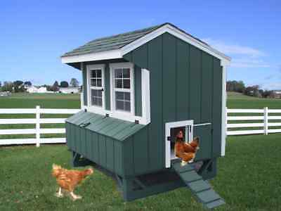 CHICKEN COOP PA DUTCH AMISH CUSTOM PEN POULTRY SHED HEN HOUSE LANCASTER FARM NEW on Rummage