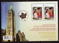 Canada 2011 William E Catherine Sovrastampato Ms Um -  - ebay.it