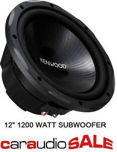 KENWOOD-KFC-W3013-12-12-INCH-1200-WATT-CAR-SUBWOOFER