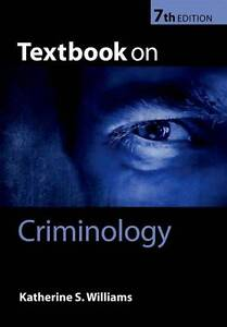 Textbook-on-Criminology-by-Katherine-S-Williams-Paperback-2012