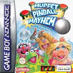 GBA - Nintendo Game Boy Advance Spiel Muppet Pinball Mayhem - Modul -