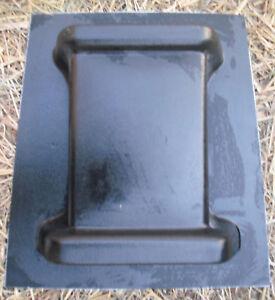 Gostatue Plastic Bench Leg Concrete Mold Paver Garden Bench Leg Mould