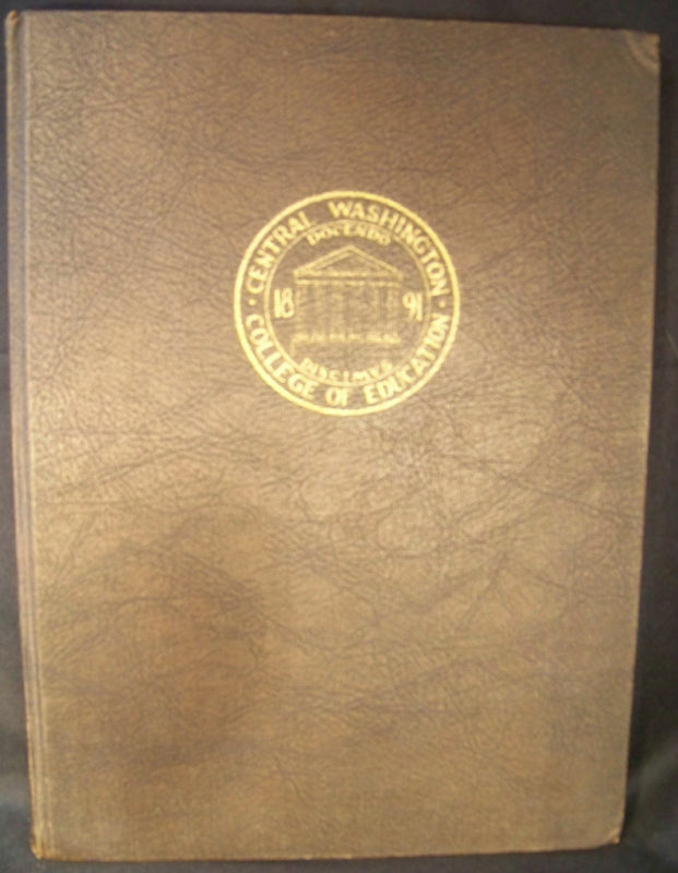 Central Washington College of Education 1938 Yearbook