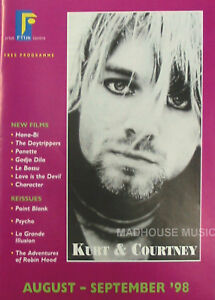 NIRVANA MAGAZINE Kurt Cover IRISH FILM PREMIERE Rare 1998 IRELAND ONLY