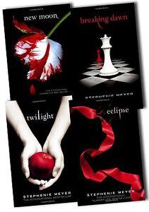 Stephenie Meyer Twilight Saga Collection 4 Books Set