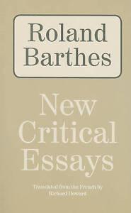 New-Critical-Essays-by-Professor-Roland-Barthes-Paperback-softback-2010