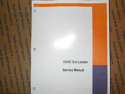 CASE 1845C UNI-LOADER SKID STEER LOADER COMPLETE REPAIR SHOP SERVICE MANUAL